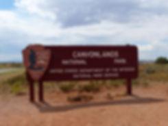 Canyonland National Park panneau