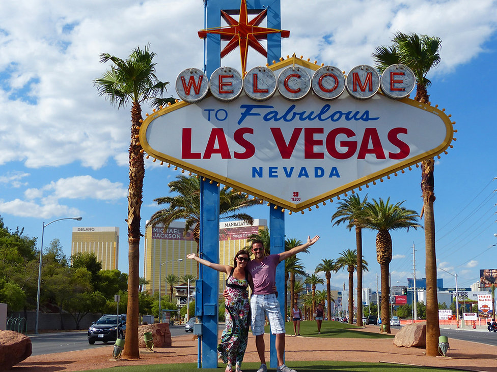 Las Vegas Welcome panneau