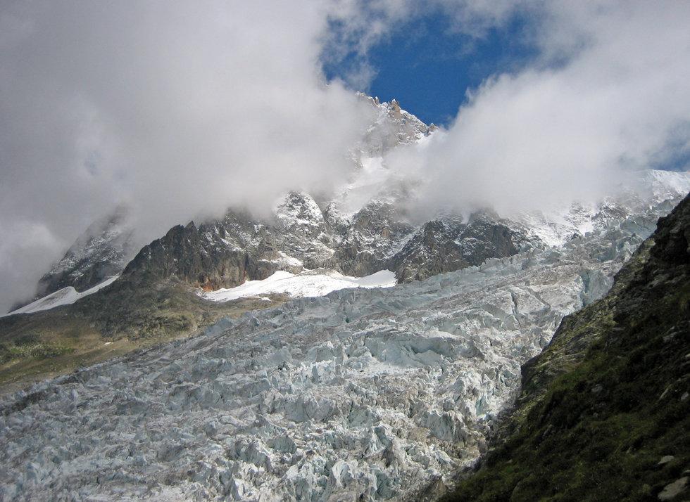Chamonix - Randonnée La Jonction - Glacier des Bossons