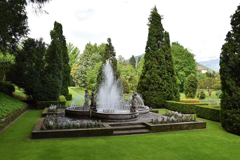 villa taranto verbania fontain