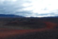 Askja caldeira volcan volcano cendres lave couleurs