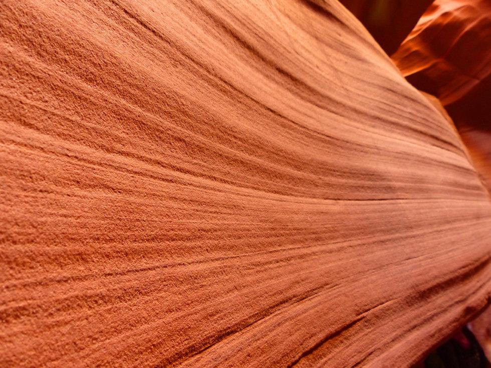 Upper Antelope Canyon grès