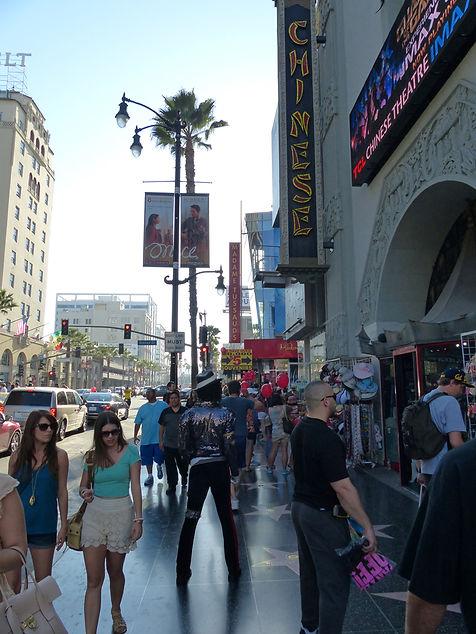 Hollywood Boulevard Mickael Jackson
