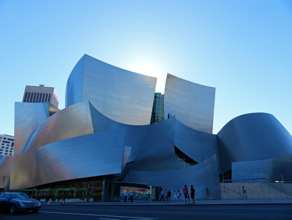 Los Angeles downtown Walt Disney Concert Hall