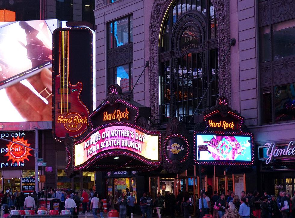 New-York - Times Square - Hard Rock