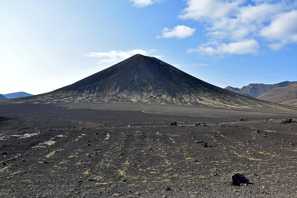 Islande Berserkjahraun piste 558 volcan