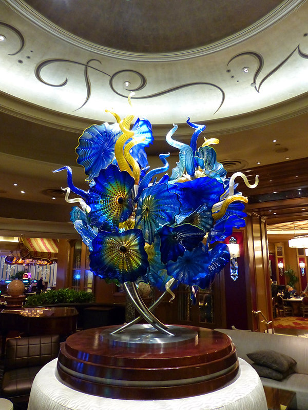 Las Vegas Bellgio Sculpture