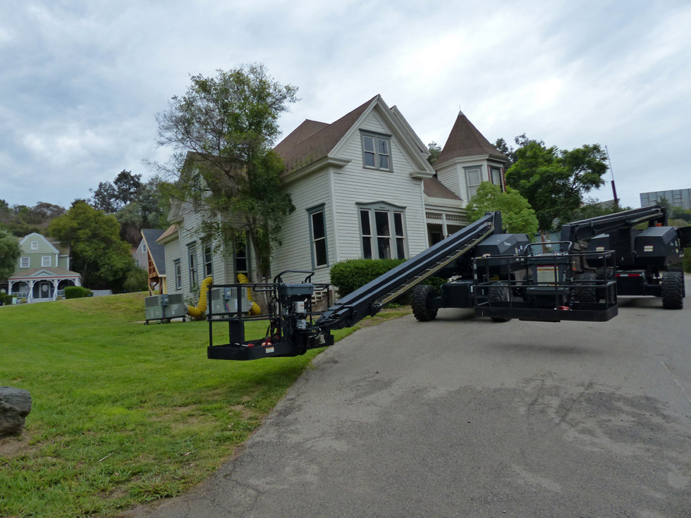 Universal Studios Hollywood wisteria lane tournage