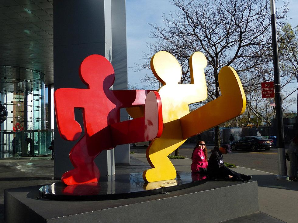 New-Yok - Sculpture Keith Haring