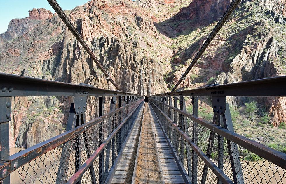 Arizona - Grand Canyon National Park - South Kaibab Trail - Kaibab Bridge