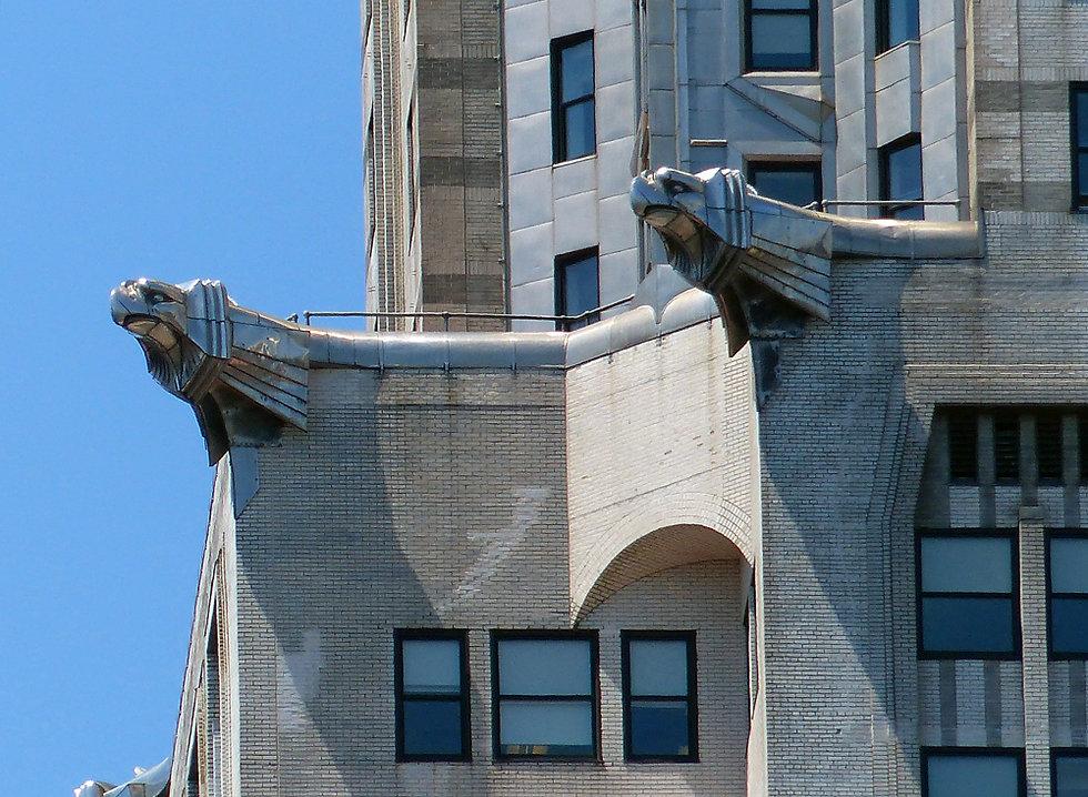 New-York - Chrysler Building gargouilles
