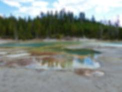 Yellowstone National Parc Norris Geyser Basin Crackling Lake