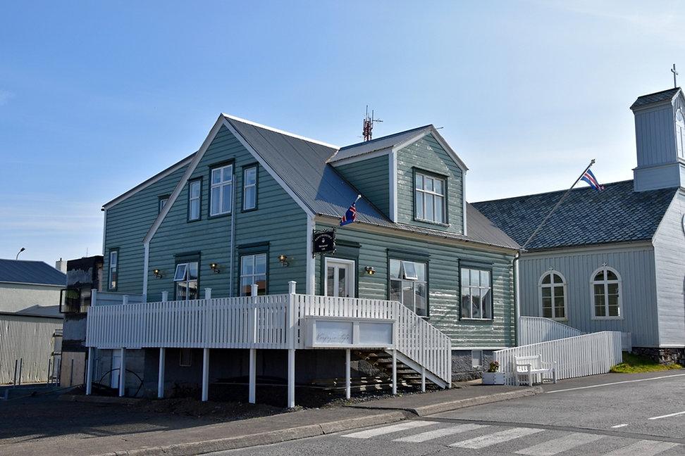 Islande Stykkisholmur Narfeyrarstofa restaurant