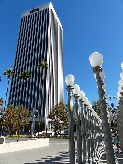 Los Angeles LACMA lampadaires