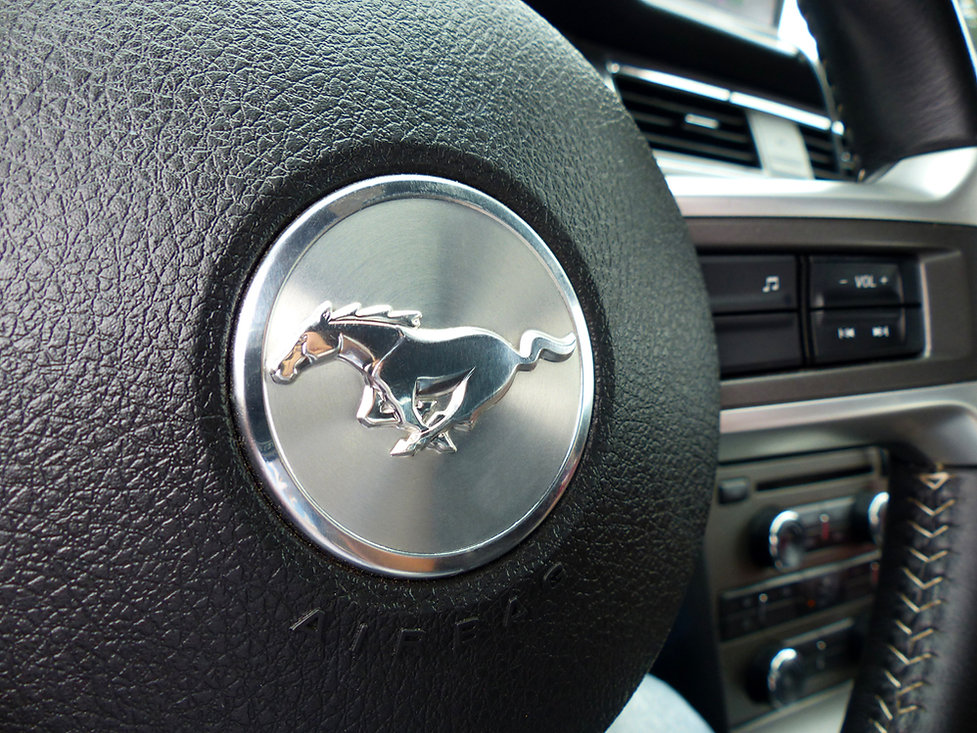 Mustang logo cheval