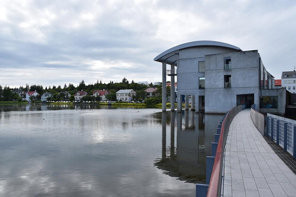 Reykjavik city hall mairie