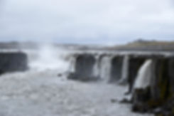 Selfoss Jökulsá á Fjöllum cascade waterfall islande iceland dettifoss