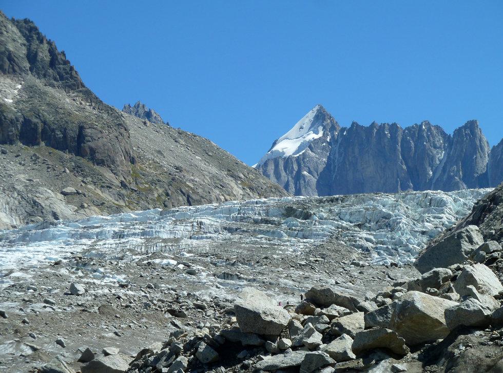 Chamonix - randonnée - glacier d'argentière - Mont Dolent