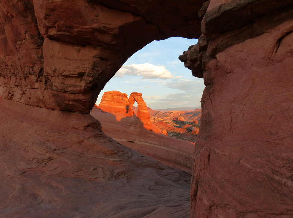 Arches National Park Delicate Arch Frame Arch
