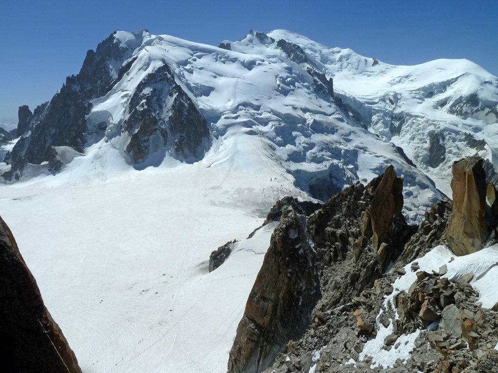 Chamonix - Aiguille du Midi - Mont Blanc du Tacul