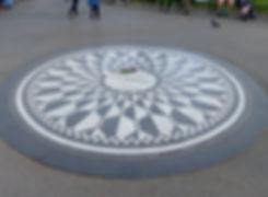 New-York - Central Park -Strawberry Fields - Imagine