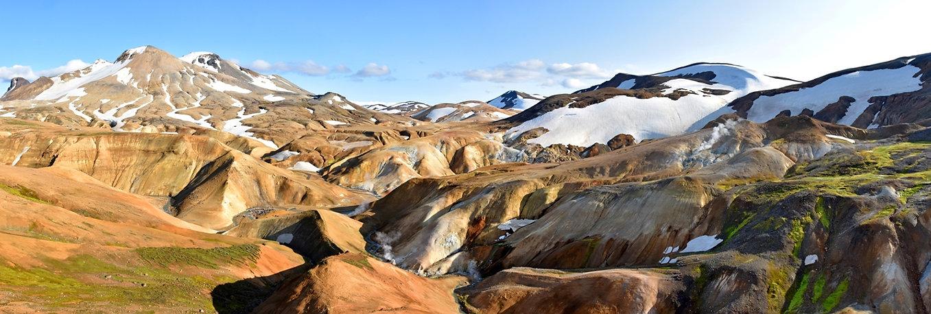 Islande massif Kerlingarfjöll panorama paysage