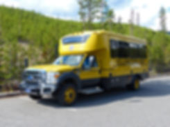 Yellowstone National Park Bus Yellow