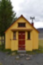 islande F335 refuge jaune rouge