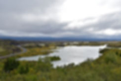 Islande Iceland Lac Myvatn Höfdi