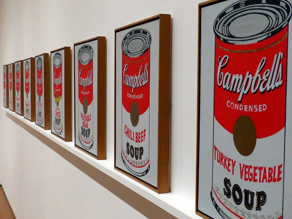 New-York - MOMA - Campbell's Soup
