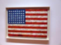 New-York - MOMA - US flag