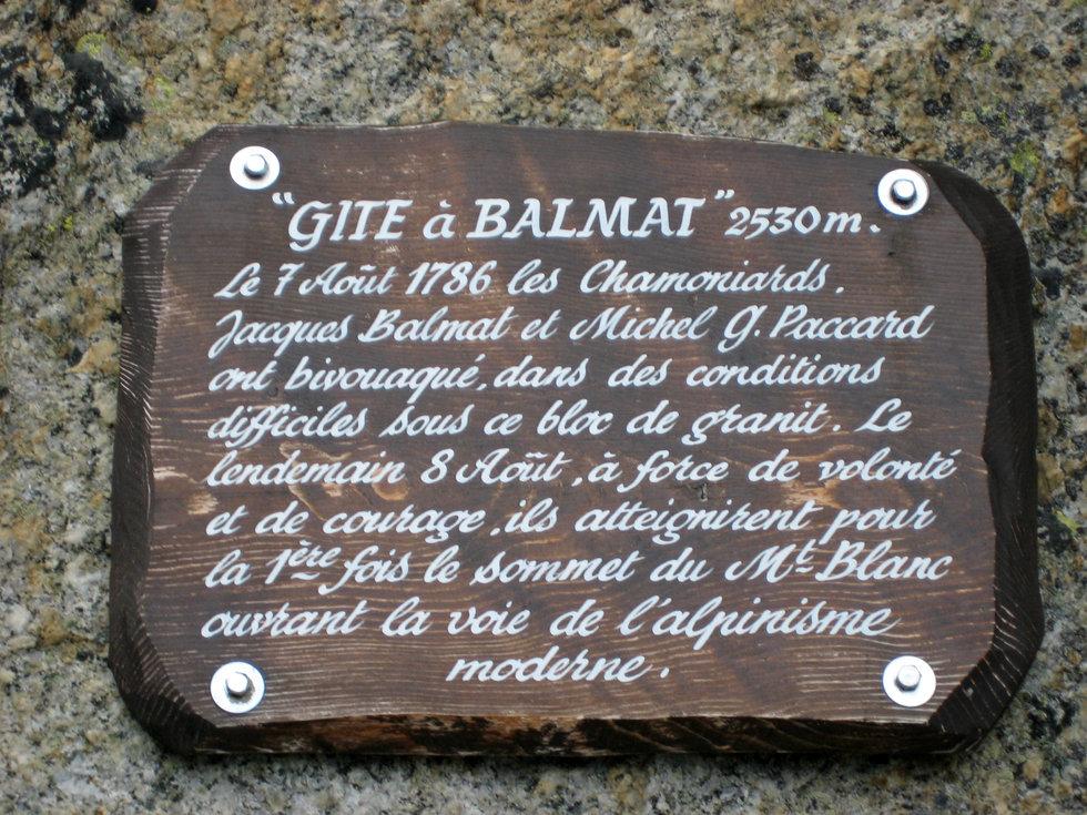 Chamonix - Randonnée La Jonction - Gîte à Balmat