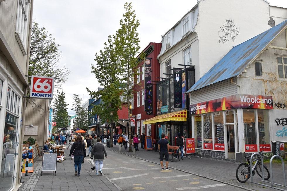 Reykjavik Laugavedur