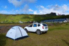 vik campground iceland islande