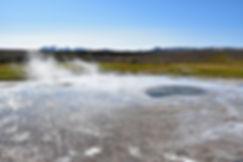 Islande zone géothermique Hveravellir source chaude Heimilishver