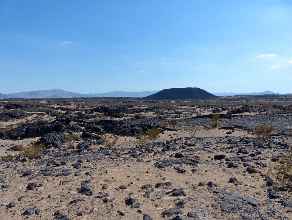 desert mojave amboy crater