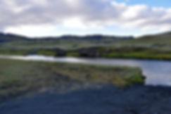 iceland island f208 Ófærufoss gué rivière