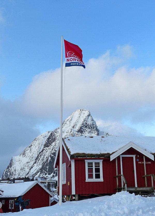 Norvège - Lofoten - Moskenesøya - Reinefjorden - Reine Rorbuer