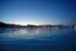 Islande Blue Lagoon soir sunset