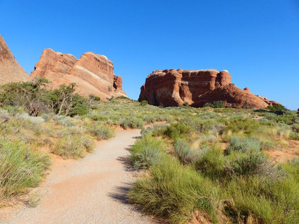 Arches National Park Devil's Garden trail