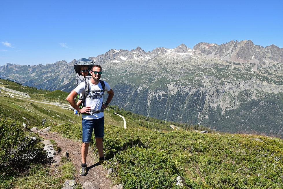 Chamonix - randonnée - glacier d'argentière