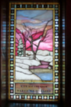 Grand Teton National Park chapel of the transfiguration inside