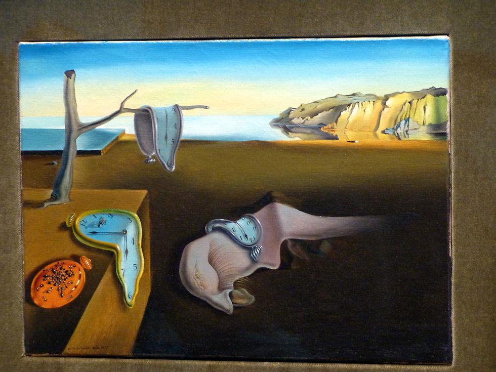 New-York - MOMA - la persistance de la mémoire