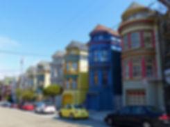 San Francisco - Haight Ashbury - maisons victoriennes