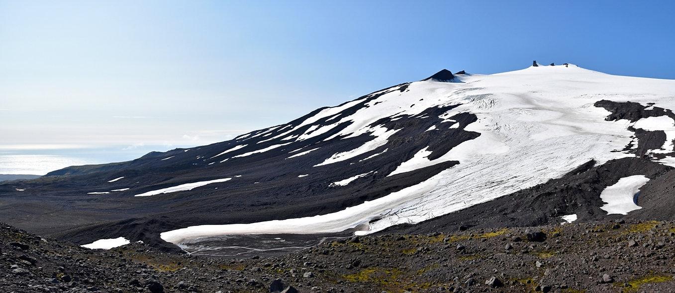 Islande Snæfellsjökull volcan glacier