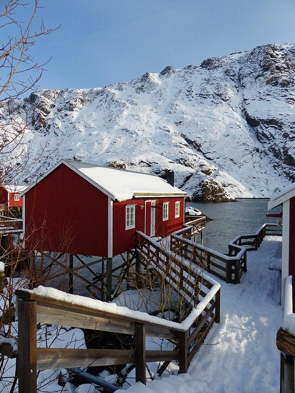 Norvège - Lofoten - Flakstadøya - Nusfjord