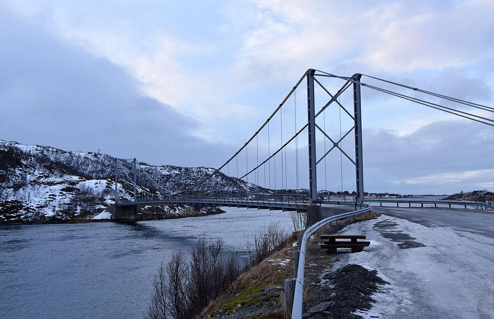 Norvège - Senja - pont