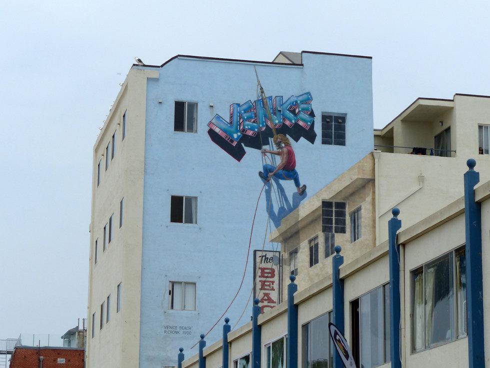 Los Angeles Venice beach tag fresque murals
