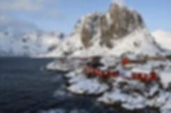 Norvège - Lofoten - Moskenesøya - Reinefjorden - Hamnøy