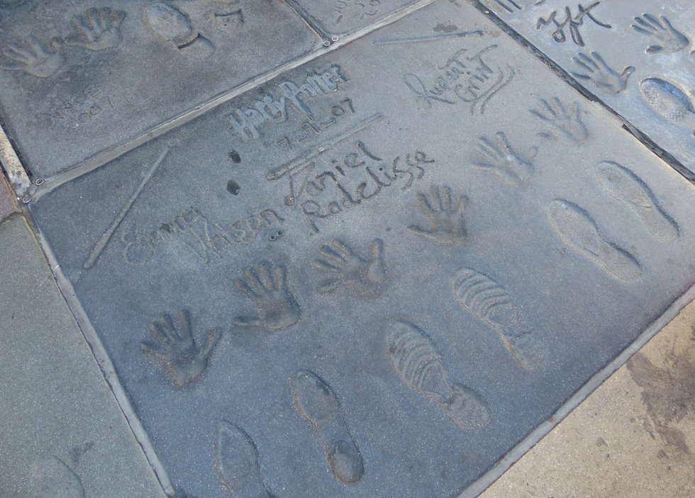 Grauman's Chineese Theate Hollywood Boulevard Harry Potter